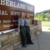 EHS students interned at the National Park Service.